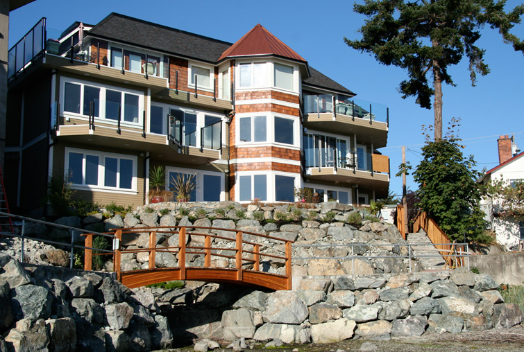 Excavation victoria vancouver island gulf islands for Landscaping rocks vancouver